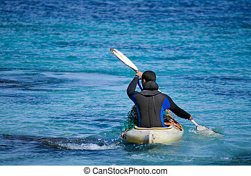 zeeland, schiereiland, karikari, kayaking, nieuw