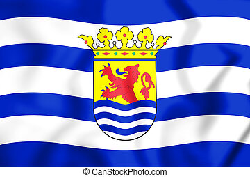 zeeland, vlag