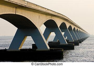 zeelandbrug, nederland, zeeland