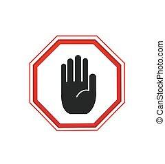 zeichen, hand, eintragung