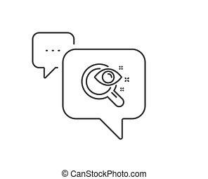 zeichen., icon., anblick- test, clinic., linie,...