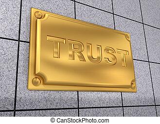zeichen, vertrauen