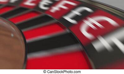 zeichen, wheel., kasino, tasche, roulett, animation,...