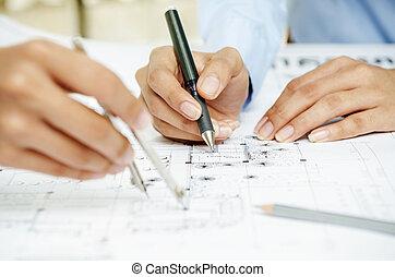 Zeichnung, Plan