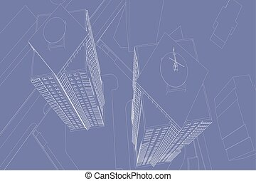 zeichnungen, architektonisch