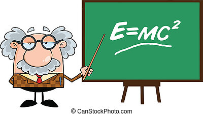 zeiger, lustiges, professor