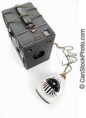 Zeiss Ikon Box Tengor old fashion camera