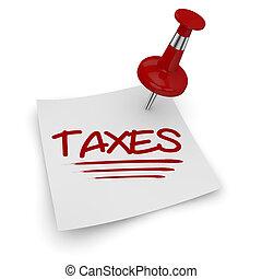 zeit, für, steuern