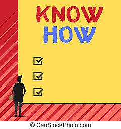 zeit, mann, sachen, zurück, riesig, lernen, rechteck, how., board., begriff, leerer , front, groß, leer, steht, sie, schreibende, wissen, text, handschrift, zuerst, wille, ansicht, bedeutung, prozess