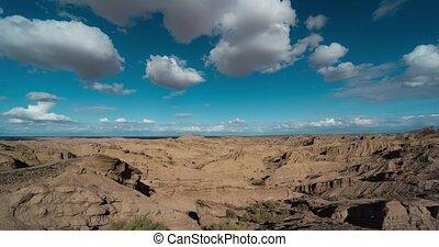zeit- versehen, mirador, valle, encantado, argentinien