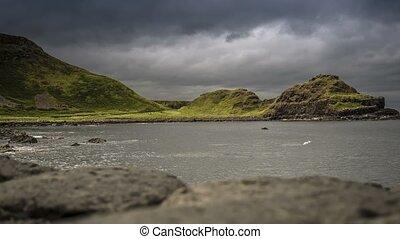 zeit- versehen, -, riesig, damm, kopf, nordirland