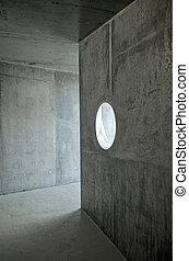 zeitgenössische architektur, detail