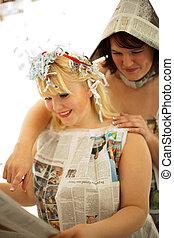Zeitungen - Pinup