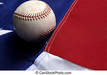 zeitvertreib, america's, -, baseball