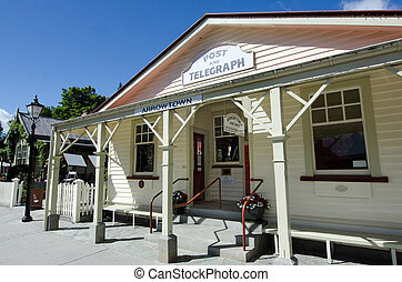 zelândia, novo, arrowtown, -