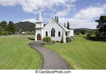 zelândia, novo, igreja