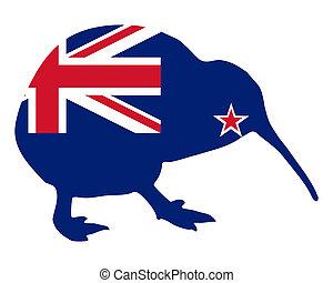 zelândia, novo, kiwi
