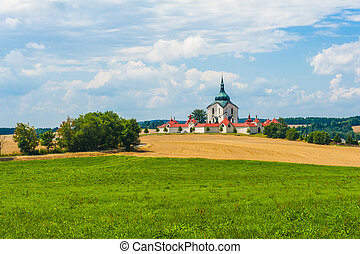 Zelena Hora - Pilgrimage church of Saint John of Nepomuk at...