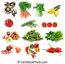 zelenina, vybírání