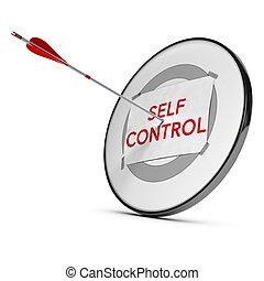 zelf, controle