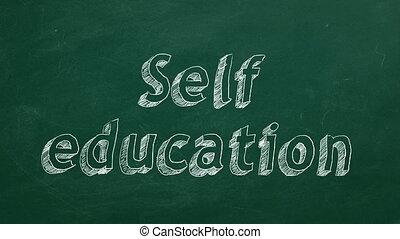 zelf, opleiding
