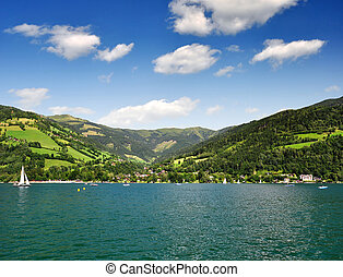 Zell am see in Austria