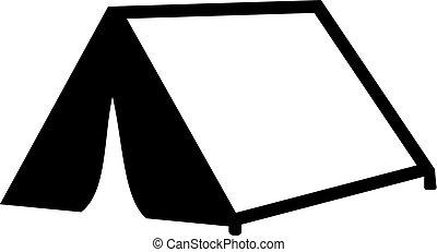 Symbol Zelt