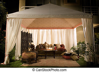 zeltfest, nacht, oder, wedding