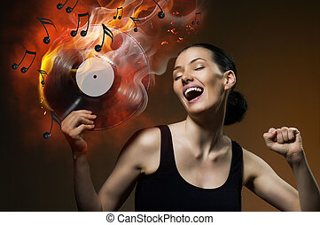 zenés, hanglemez