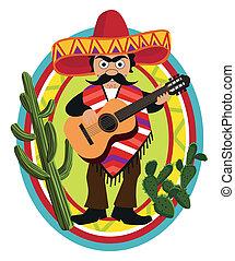 zenész, mexikói