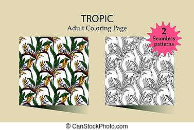 Zen and Anti stress - Coloring pages for adults.