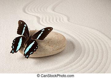 Zen butterfly