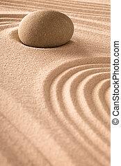 zen garden background
