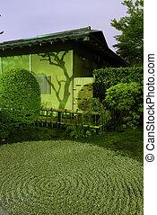 Zen-Garden night
