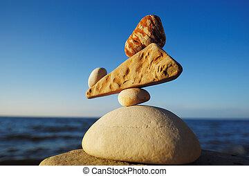 zen-gelijkvormig, evenwicht
