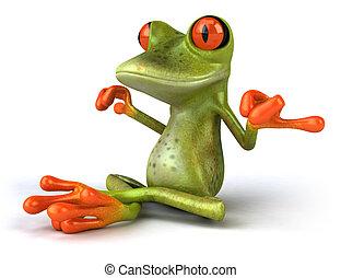 zen, grenouille