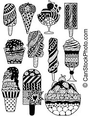 Zen ice cream