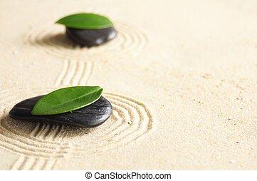 zen, jardim japonês