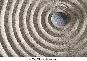 zen, konzentration