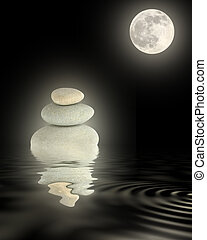 Zen Moonlight Beauty