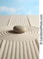 zen, pedra