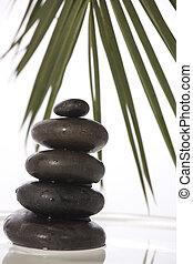zen, piedras