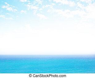 zen, plaża, tło