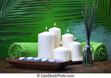 zen, spa, nature morte