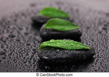 zen stone wellness concept