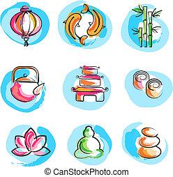 zen, wizerunki, zbiór