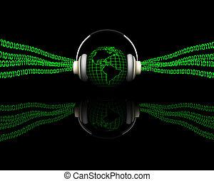zene, digitális