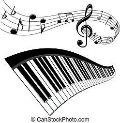 zene, háttér