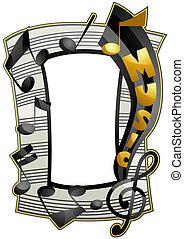 zene, keret