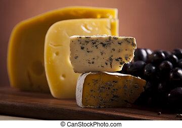 zenemű, sajt